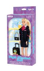 Flight Attendant Doll - Generic