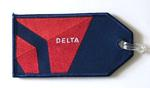 Delta 2009 Embroidered Luggage Tag