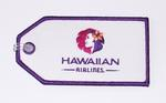 Hawaiian Airlines Embroidered Luggage Tag