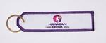 Hawaiian Airlines Embroidered Key Ring Banner