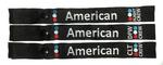 American Crew Snap-on Luggage Strap - Choose Your Base