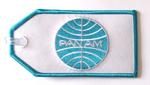 Pan Am Embroidered Luggage Tag