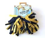 Pom-ID Navy Blue/Yellow Gold