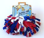 Pom-ID Red/White/Blue